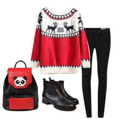 It's perfect for winter days. #breakicetrends #sweater