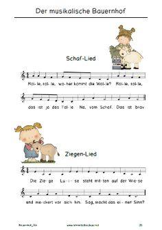 Free: Kindergeschichte mit Liedern zum Bauernhof