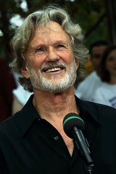 Kris Kristofferson-What can I say he is one of the Kings of different!! Love It!!