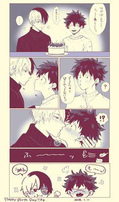 Todoroki Shouto's Birthday [1.11]