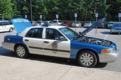 Raleigh Crown Vic Police Interceptor