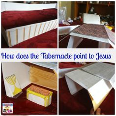 We reached the Tabernacle and I put together a fun hands on tabernacle lesson for my kids to go through based off of a Tabernacle Sunday School lesson I did.