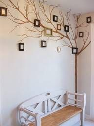 "Cool spin on a ""family tree"". Better than a hall of pics."