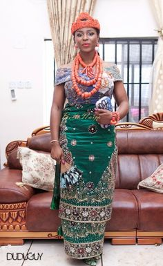 Obis  Ik Igbo Naija Wedding - Igba Nkwu Wine Carrying ~African fashion, Ankara, Kente, kitenge, African women dresses, African prints, African men's fashion, Nigerian style, Ghanaian fashion ~DKK