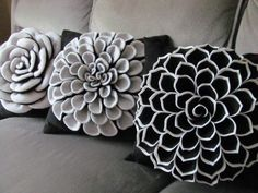 ideas -- double layer your petals for 2 different colors