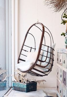 Hanging chair by Byron Bay Hanging Chairs