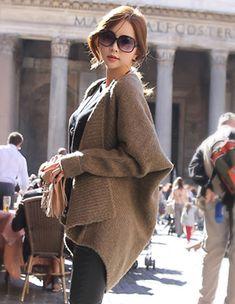 Styleonme_Alpaca Shawl Knit Cardigan #cardigan #alpaca #shawl #knits