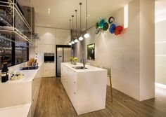 13 SMALL Homes so beautiful you won't believe they're HDB flats Flat Interior, Apartment Interior, Interior Design, Kitchen Design, Kitchen Decor, White Brick Walls, Interior Inspiration, Kitchen Inspiration, Home Deco