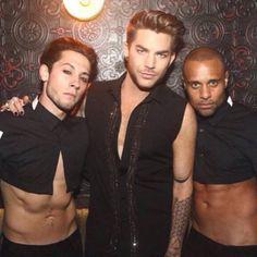 Adam posted on IG: W dancers Zach and @terrancespencer last week at Marquee ... https://instagram.com/p/4m7hkduNIn/