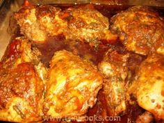 TRINI STYLE BAKED CHICKEN