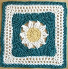 "Blooming Lace - 12"" Square"