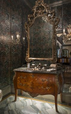 Bathroom   Powder   Design   Interiors   DallasDesignGroup