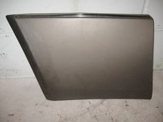 Moulding - Left Front Fender W124 300e Mercedes 1246908140
