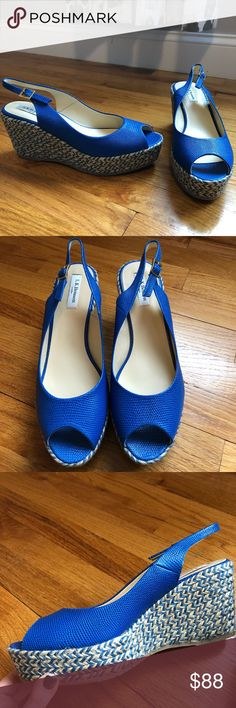 NWT LK Bennett April espadrilles wedges Sz 42 Beautiful brand new LK Bennett espadrille wedges with rubber bottoms. Real leather. Made in Spain. Originally $295. Sz 42 best correlates with a US 11. Please know your Euro sizing 💕 Perfect for spring and summer! LK Bennett Shoes Espadrilles
