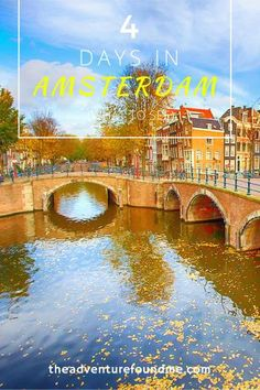 """Despite being small, Amsterdam is a variegated city full of art galleries, lively markets and bright colors. Here you can either enjoy the historical and artistic side of the city or you can entertain yourself with the many attractions that Amsterdam has to offer. In 4 days you have to make the most of it, so I prepared this itinerary, including all the """"major"""" attractions to help you out."""