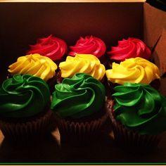 Reggae Cupcakes