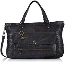 Pieces Totally Royal, Women's Top-handle Bag, Black (black), One Size