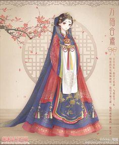 他的热门内容 Korean Anime, Korean Art, Korean Style, Dress Up Diary, Korean Illustration, Kleidung Design, Manga Clothes, Nikki Love, Anime Dress