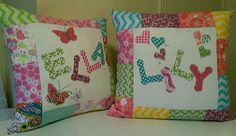 Custom name pillows