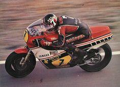BARRY SHEENE tweetakt Yamaha racemotor