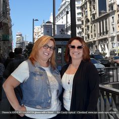 Dianne is loving Madrid in her new designer glasses by Anne et Valentin. Her friend is trying out Eye Candy's most colorful sun protection, the custom Francis Klein sunglasses.  Eye Candy – Eyewear Fashion in all of the colors of Spanish Fiesta! Be who you want to be at Eye Candy Optical! info@eye-candy-optical.com www.eye-candy-optical.com - Book your Eye Exam Today! (440) 250-9191
