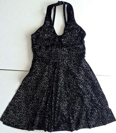 Designs For Dance Velvet Metallic Figure Skating Dress Leotard Girls Size XL #DesignsforDance