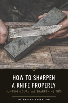 Here's a step by step guide on how to properly sharpen a pocket knife at home. We've got sharpening tips on all types of knives and knife grinds.