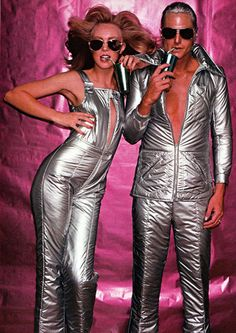 On my list of things I need. His and Hers futuristic ski suits.