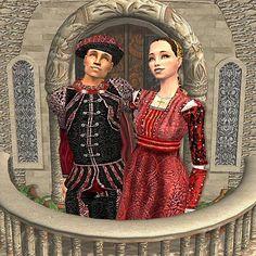 Mod The Sims - Romeo and Juliet Renaissance Fashion, Romeo And Juliet, Sims 2, Italian Style, Simple Style, Dress Ideas, History, Dresses, Vestidos