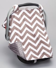 With its understated hues and comfy minky construction, this baby-soft car seat canopy pulls triple duty as comfy, chic and functional. Car seat not W x polyesterMachine wash; Cozy Cover, Sleep Solutions, Baby Bundles, Get Baby, Grey Chevron, Cozy Blankets, Seat Covers, Canopy, Little Ones