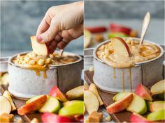 Skinny Caramel Apple Dip - The Cookie Rookie