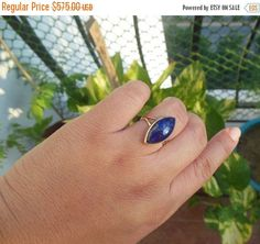 Hey, I found this really awesome Etsy listing at https://www.etsy.com/listing/249128437/gold-lapis-ring-18k-gold-ring-lapis