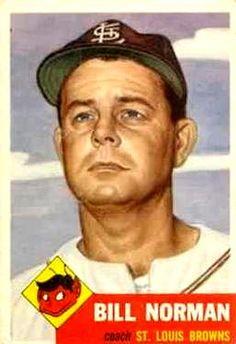 245 - Bill Norman CO - St. Louis Browns