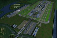 Navi Mumbai Airport... the new airport for Mumbai, India. Image: courtesy of Louis Berger - Airport Technology