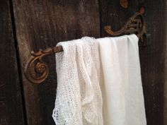 Antique art deco swing arm extending curtain rods by whimzeesnest