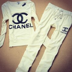if i were rich i'd buy this Chanel pajama