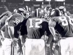Scott Hunter leads Bama in 1969 vs Archie Manning and Ole Miss