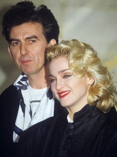 Did George Harrison have an affair with Madonna? Explosive film reveals new side to Beatles star   Mail Online