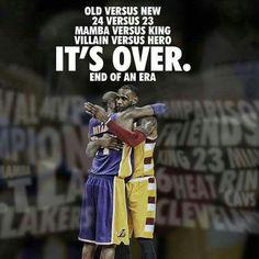 Kobe Bryant - Los Angeles Lakers and Lebron James