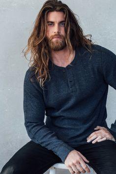 Magnus the Giant ((Brock Ohurn) Hairy Men, Bearded Men, Hair And Beard Styles, Curly Hair Styles, Brock Ohurn, Isaac Brock, Man Bun Hairstyles, Hommes Sexy, Good Looking Men