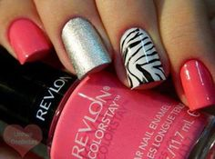 love these nails!..but would use different colors