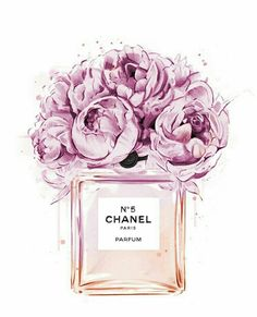 Chanel perfume illustration with peonies. Print out and plac .- Chanel perfume illustration with peonies. Print out and place in frame for decor… Chanel perfume illustration with peonies. Visit our shop if it does not have to be Chanel …. Perfume Chanel, Chanel Chanel, Chanel Bags, Fashion Drawings, Fashion Sketches, Fashion Art, Trendy Fashion, Fashion Design, Fashion Quotes