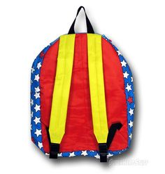 Own This Fun Wonder Woman Backpack With Removable Cape