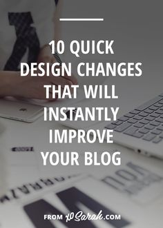 Your blog design can make or break your reader's experience. It can be as simple as making your site difficult to navigate or as serious as affecting your credibility as an expert in your niche. But either way, making even a couple of these changes will make it easier for readers to find more blog content, join your email list, browse your services, or buy your products.