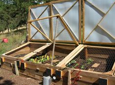 how to build a cold frame with pictures   Building and using a cold frame » BlackHillsGarden.com - Gardening ...