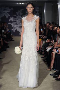 The Claire Gown #CarolinaHerrera #Bridalspring2015