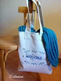 Tote Bag personalizada con pintura textil