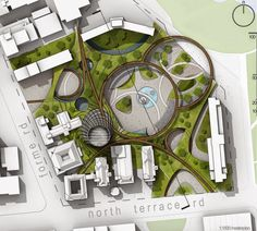 https://www.facebook.com/thehienkientrucdotcom Trung tâm văn hóa thành phố ADELAIDE - ÚC (KTS ESAN RAHMANI + LITTLE BIG DESIGN LAB )
