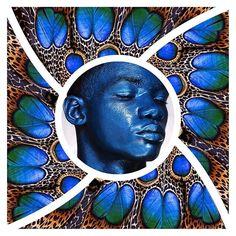 Glorious blue #makeupinspo for Tuesday #blue #cyan #makeupinspiration