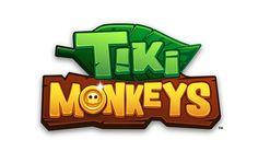 Tiki Monkeys - Mobile Game by flavia ceccarelli, via Behance 2 Logo, Typography Logo, Logo Branding, Bg Design, Game Logo Design, Video Game Logos, Toys Logo, Cartoon Logo, Font Art